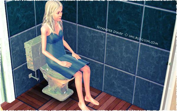 シムズ3 氷の彫像 トイレ ちゃんと使用できる