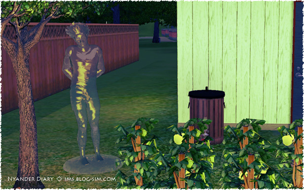 シムズ3 氷の彫像 シムの氷の彫像が完成