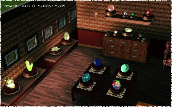 シムズ3 美術館 宝石コレクション